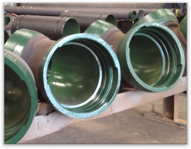 C and b piping providing ductile iron systems